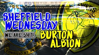 *Embarrassing* SWFC vs BURTON ALBION😓😓💙
