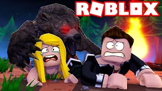 BEAR MOM WANTS TO EAT US?! - ROBLOX [English/HD