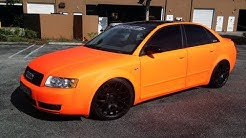 Firebelly Orange Plast Dipped Car - Pro Car Kit - Matte Florescent  Orange