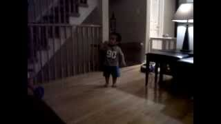 "Arion @ 15 months old, singing ""untitled song""."