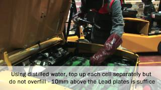 Briggs Equipment UK: How to charge and top up forklift truck batteries