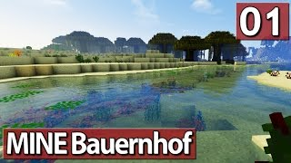 MINE Bauernhof #01 MINECRAFT Life in The Woods deutsch