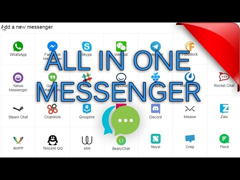 All In One Messenger (Whatsapp+FB Messenger+Skype+Telegram+WeChat and more)