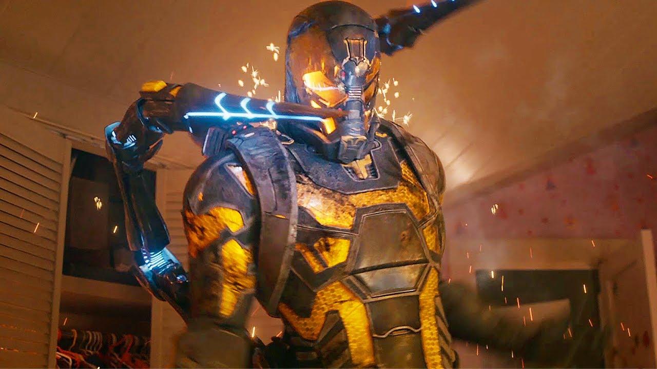 Download Ant-Man Subatomic Scene - Quantum Realm  - Ant-Man (2015) Movie CLIP HD