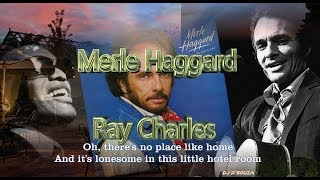 Merle Haggard & Ray Charles - Little Hotel Room(1984)
