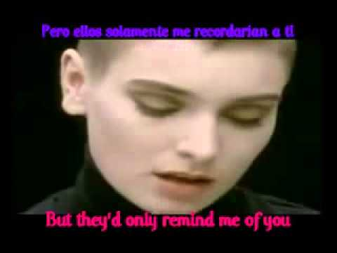 Sinead O'connor   nothing compares to you subtitulos ingles español