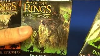 Lord Of The Rings Movie Game Cards, Decipher (Movie Monday - Ep. 07)