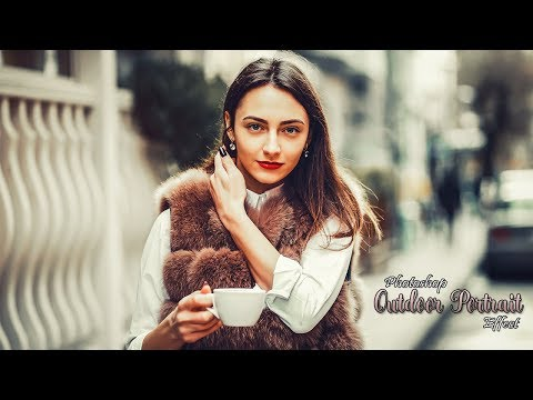 Outdoor Portrait Editing | Photoshop CC 2019 Tutorial thumbnail