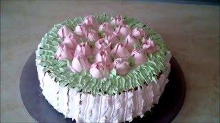 Красивый,вкусный и нежный торт  ОБЛАКО
