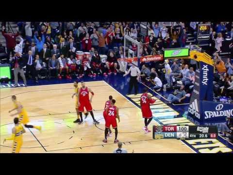 Toronto Raptors vs Denver Nuggets | November 18, 2016 | NBA 2016-17 Season