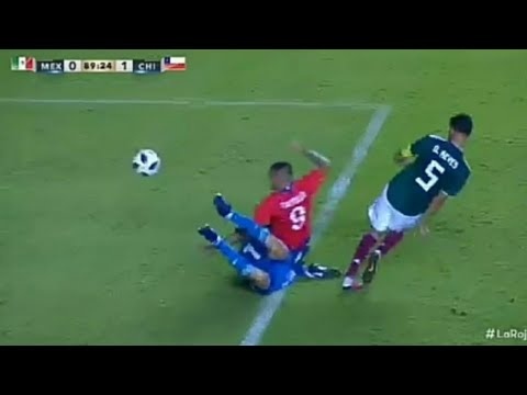 Chile vs México 1-0 GOL N.CASTILLO