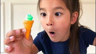 Johny Johny Yes Papa making tiny ice cream!