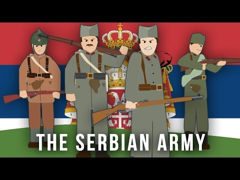 WWI Factions: The Serbian Army