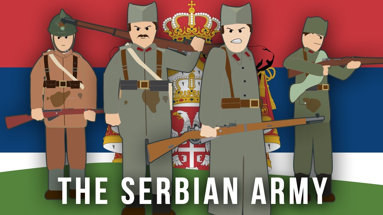 WWI Factions: The Serbian Army - YouTube