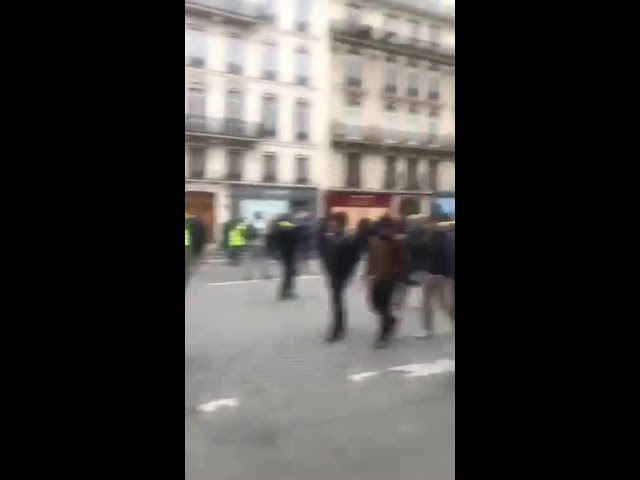 Manifestaciones en Francia V