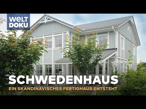 Ein Schwedenhaus entsteht - Bullerb in Deutschland | Doku
