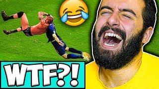 PROVA A NON RIDERE CON FIFA 18 ( Fails & Glitch Compilation ) #9