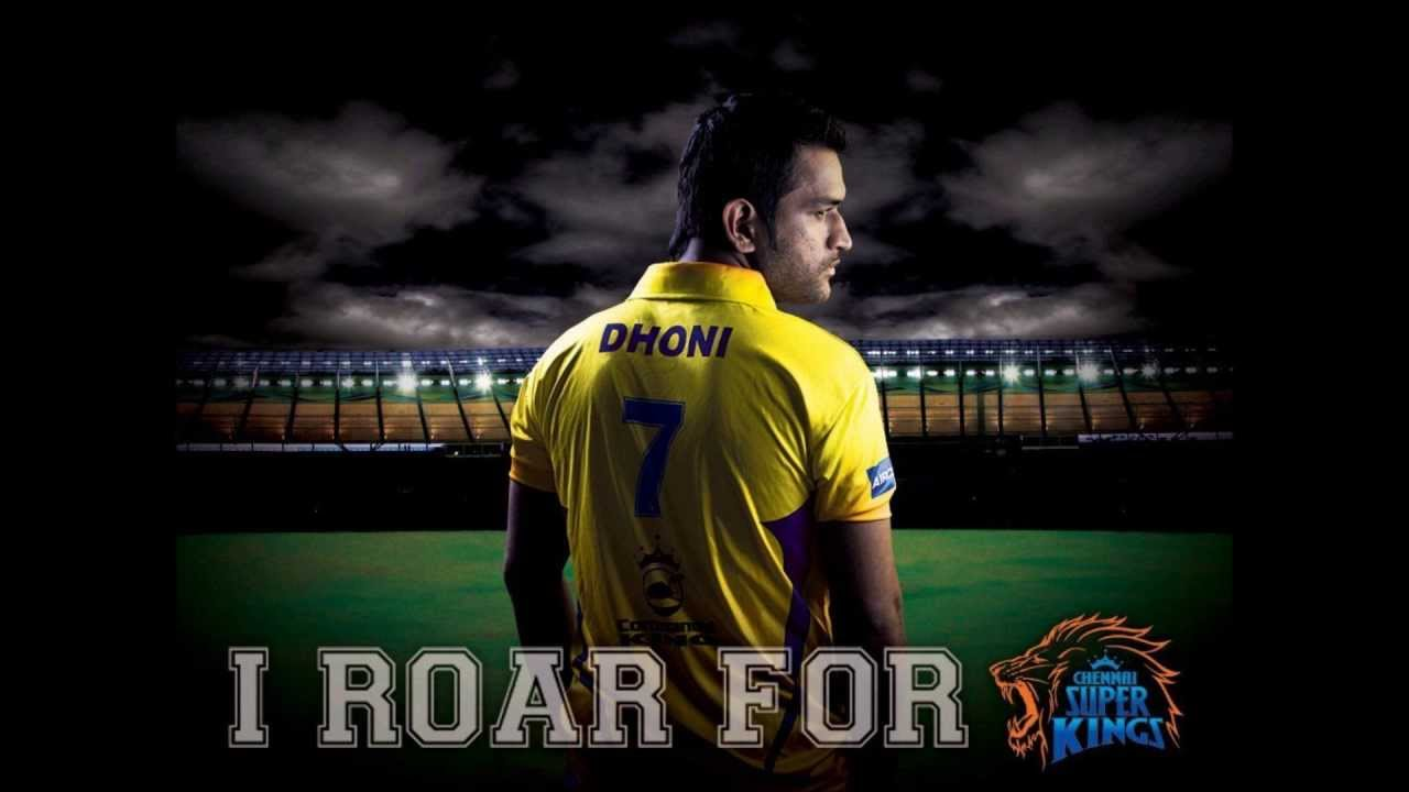 Ms Dhoni Csk Wallpaper Hd: Original Whistle Podu Full Song