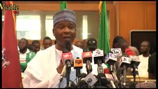Defection : Saraki Vows Not To Resign As, Senate Pressident