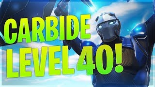 Carbide lvl 40 - Fortnite Season 4 Battle Pass