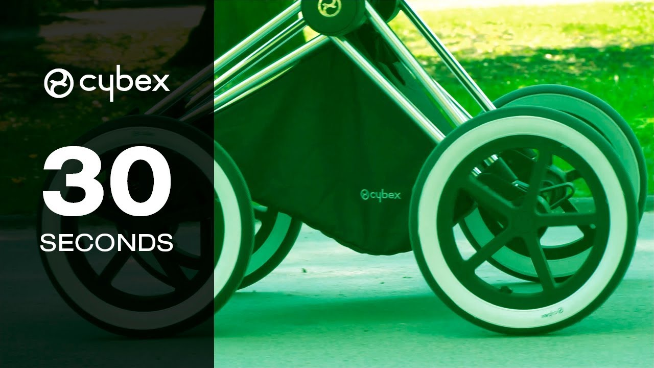 30 Seconds With Cybex Priam Front Wheel Adapter