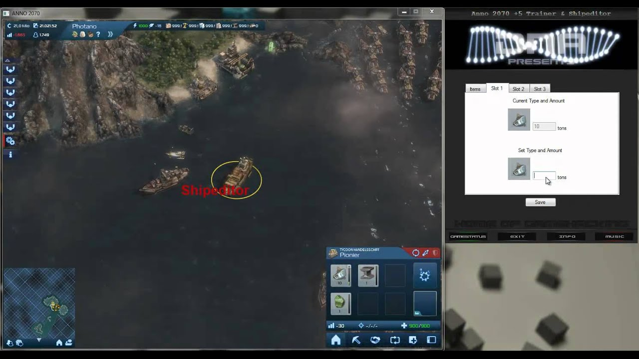 Anno 2070 trainer shipeditor youtube gumiabroncs Images