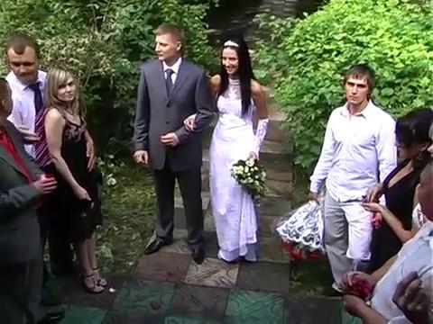 Прикол! Драка на свадьбе