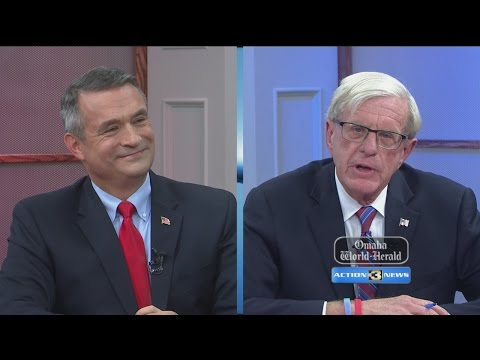 Part two of the Congressional Debate between Brad Ashford and Don Bacon