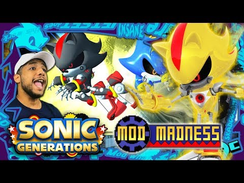 Sonic Generations PC - Metal Shadow & SUPER Metal Shadow (4K 60FPS) Mod Madness!