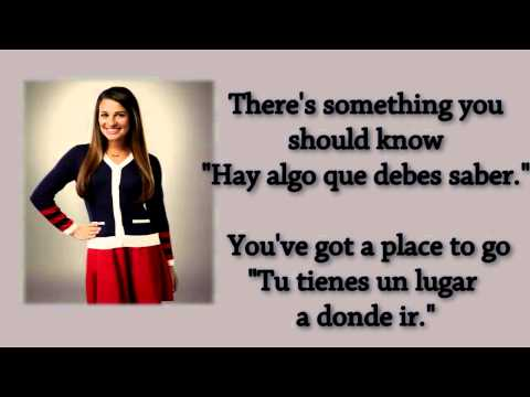 Glee - Ben Lyric/Letra Ingles/Español