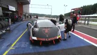 Lamborghini Blancpain Super Trofeo 2010 - Spa-Francorchamps - Rounds 10, 11, 12