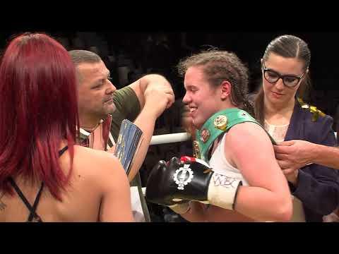 Ema Kozin World pro box champion  WBF an WBC international champion