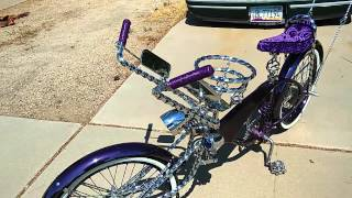 Real custom lowrider bike