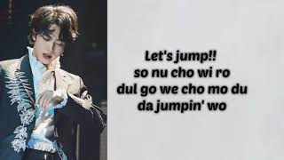 JUMP - BTS (방탄소년단) - (Easy Lyrics)