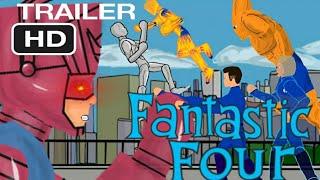 """""""Фантастическая Четверка"""" Первый Трейлер / Fantastic Four First Trailer (Рисуем Мультфильмы 2)"""