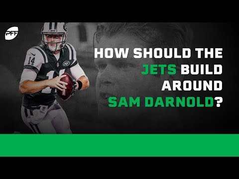 How Should the Jets build around Sam Darnold? | PFF