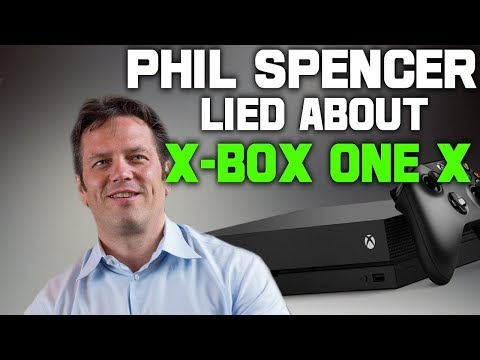 Phil Spencer Gets Called Out For Lying About The Xbox One X! Fans Arent Happy Right Now!