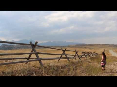 Bozeman, Montana -- a day in my Great American Roadtrip (6 min version)