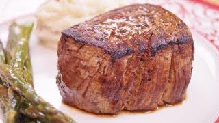 Filet Mignon: Recipe: How To Cook: Perfect Filet Mignon: BEST:Pan/Oven:Di Kometa-Dishin