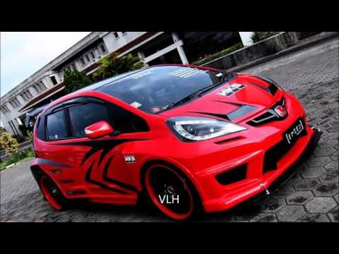 Modifikasi Honda jazz terbaru 2016  YouTube