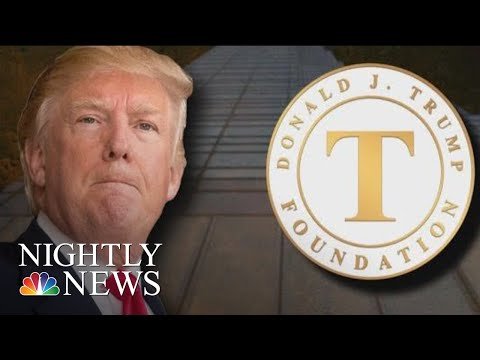 President Trump Agrees To Dissolve Controversial Donald Trump Foundation