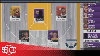 How the Los Angeles Lakers and Boston Celtics could trade for Kawhi Leonard | SportsCenter | ESPN