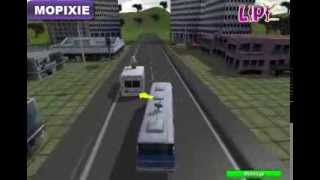 3D Bus Parking Game - School Bus Parking 3D
