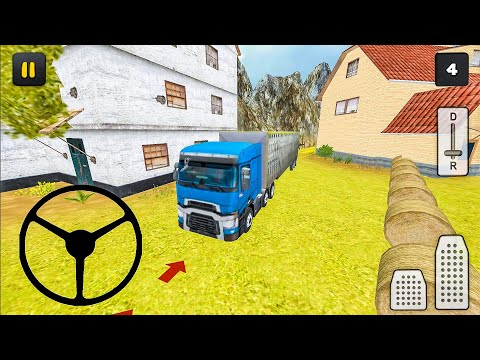 Farm Truck 3D: Cow Transport - Android Gameplay FHD