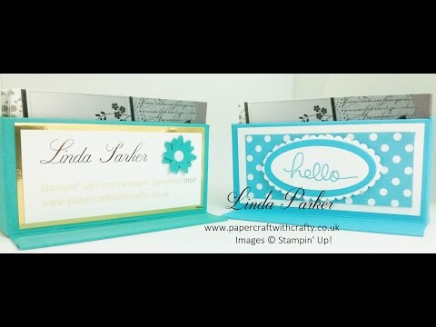 Stampin' Up! Sturdy Business Card Holder