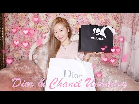 LADY DIOR MINI & CHANEL CRUISE COLLECTION 19C UNBOXING 💖👛 PINK PINK PINK 🥰