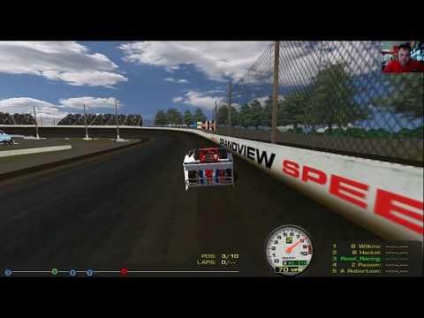 rFactor Racing at Grandview Speedway !