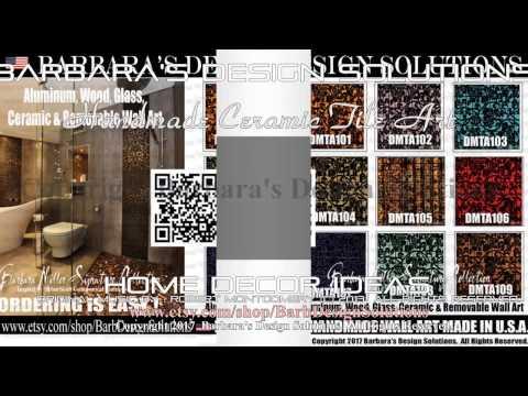 Tile Art Ceramic Artworks Home Design Ideas (c) B.D.S. All Rights Reserved.