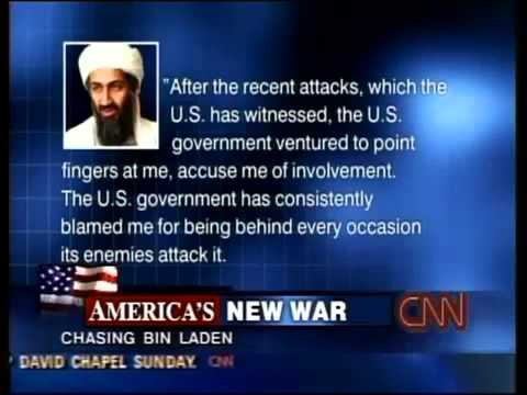 Osama Bin Laden DENIES All Involvement with 9/11
