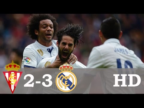 Download Sporting Gijon vs Real Madrid 2-3 - All Goals & Extended Highlights - La Liga 15⁄04⁄2017 HD